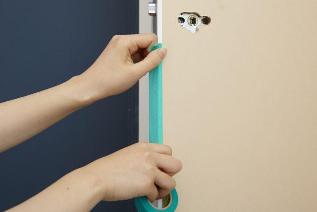 塗って貼れる自由なドア。Eeme‐エーメ
