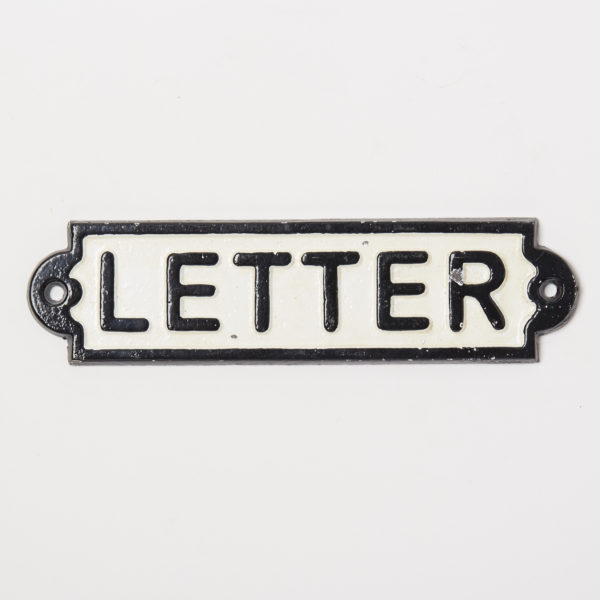 IRON SIGN LETTER