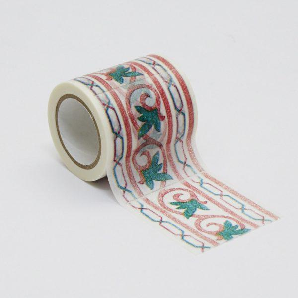 インテリアマスキングテープ 50mmタイル/グリーン