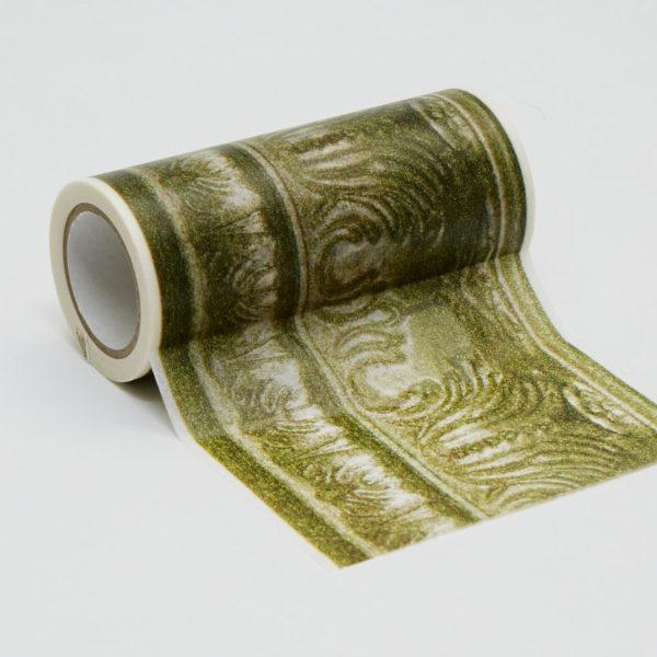 インテリアマスキングテープ 100mmフレーム/ゴールド