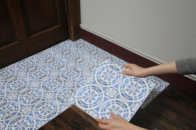 【50%offセール中!】簡単に床のDIYができる・decolfaフロアパネルシリーズ