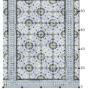 AZULEJO Mat type(60.5*92.5cm)ー夏水組デザイン クッションフロアマット