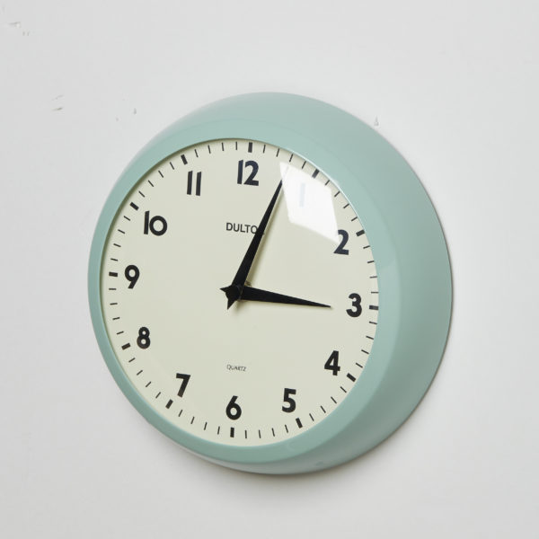 WALL CLOCK CLASSIC GREEN