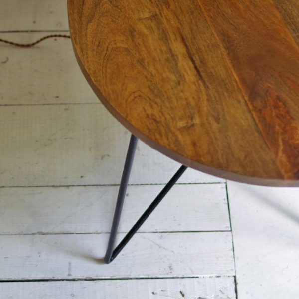 【CAFE – 7 】TH IRON COFFEE TABLE