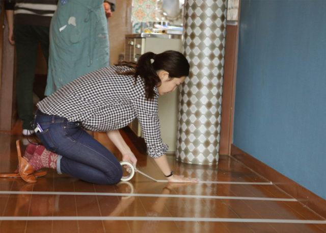 賃貸でも貼れる!クッションフロアで床をDIY。