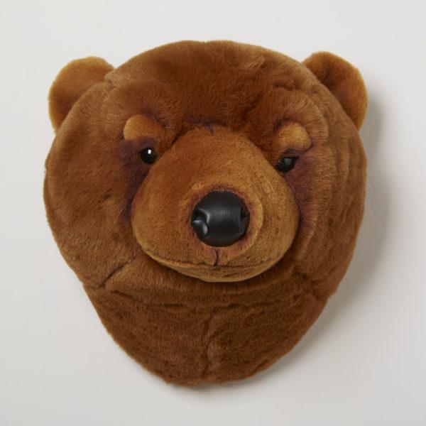 Animal Head Brown Bear