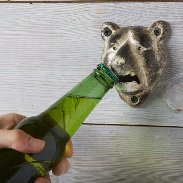 IRON BOTTLE OPENER BEAR