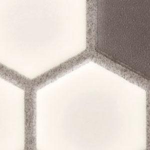 クッションフロア レトロ六角形タイル