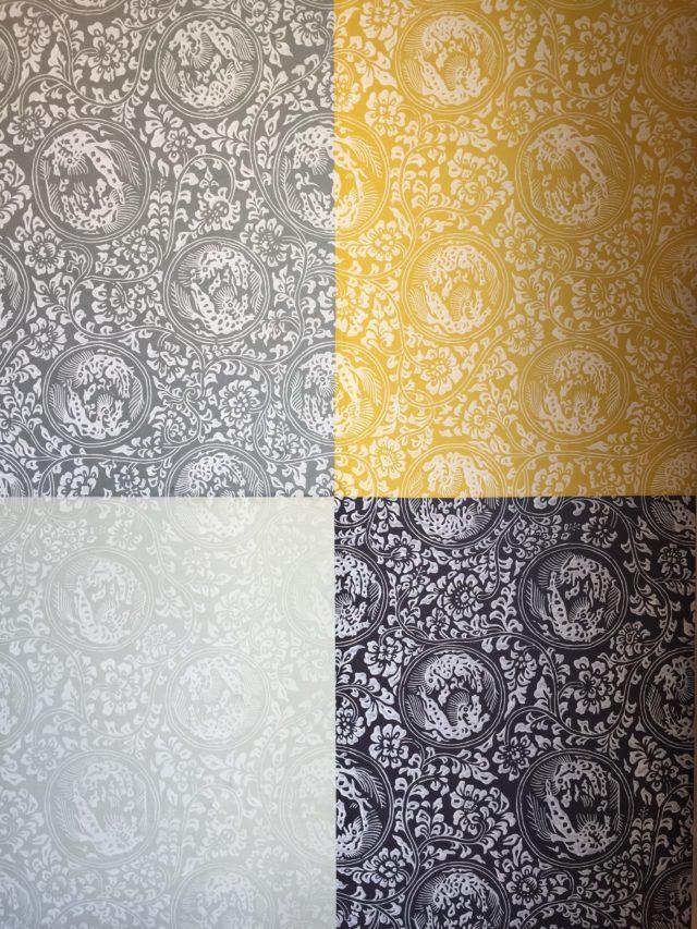 夏水組デザインの襖紙 販売開始です!