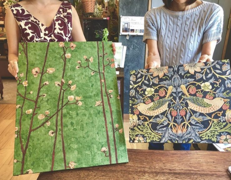 この夏人気の輸入壁紙 ーゴッホの絵画でインテリア雑貨を手作りしよう