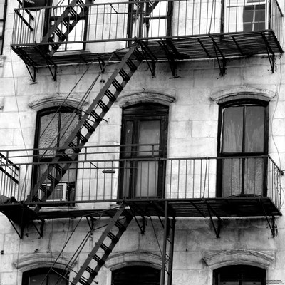 FIRE ESCAPE BalconyL