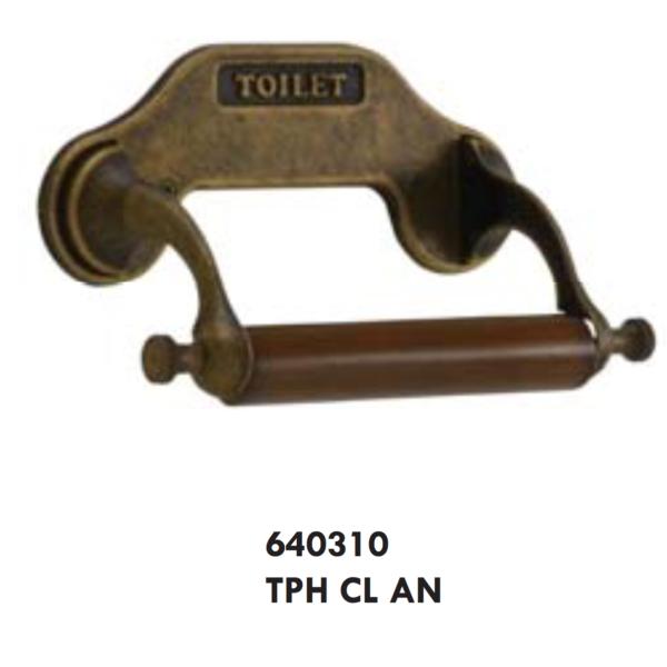 トイレットペーパーホルダー 古色仕上げ 640310