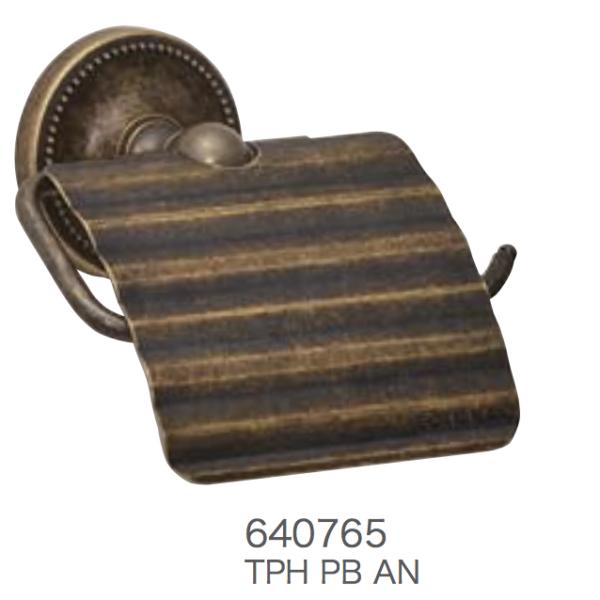 トイレットペーパーホルダー 古色仕上げ 640765
