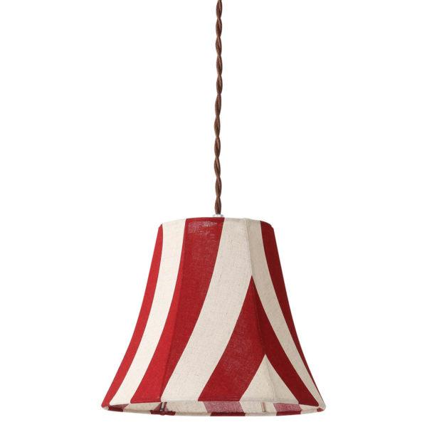 PARTY FABRIC LAMP 1灯ペンダントランプ  STRIPE RD