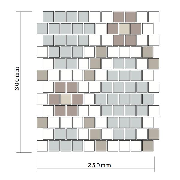 パターンモザイクタイルシート05
