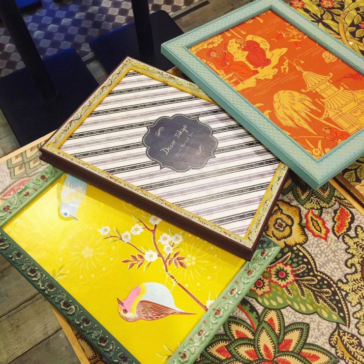 【Decor Interior Tokyo】塗る楽しさを体験しよう!フレームペイントワークショップ
