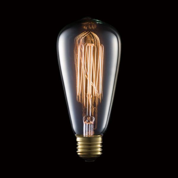 Carbon Bulb E26 ST64 60W