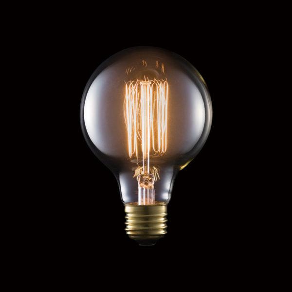 Carbon Bulb E26 G80 60W
