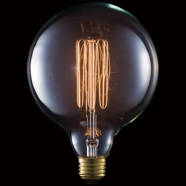 Carbon Bulb E26 G125 60W