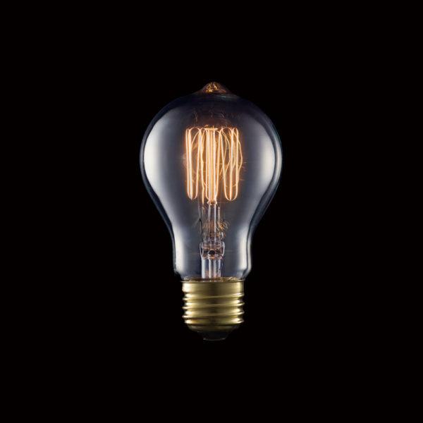 Carbon Bulb E26 A19 40W