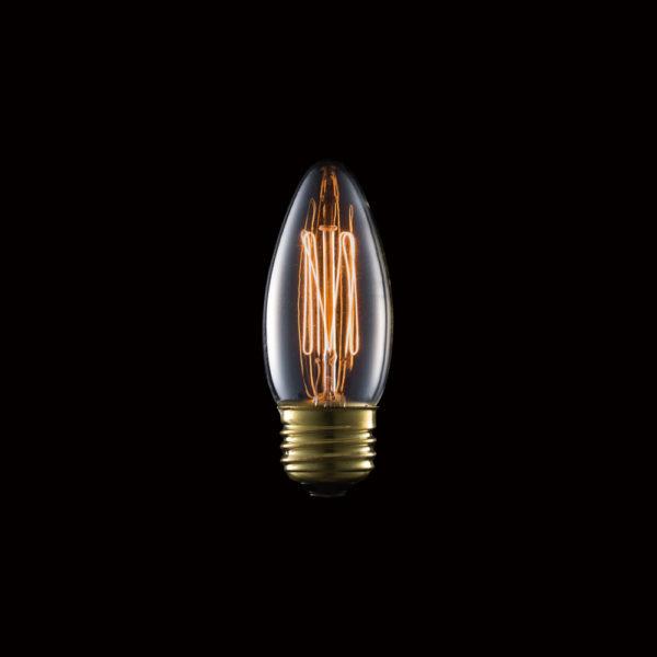 Carbon Bulb E26 C35 40W