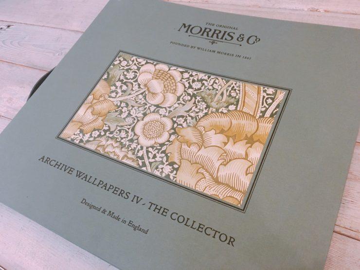 ウィリアム・モリスの新しい見本帳が入荷しました!