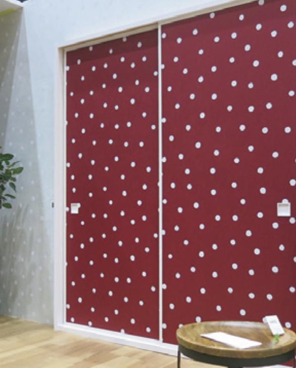 夏水組デザイン「Polka Dots」シリーズに新商品が登場!ランプ・ラグ・襖紙のラインアップです!
