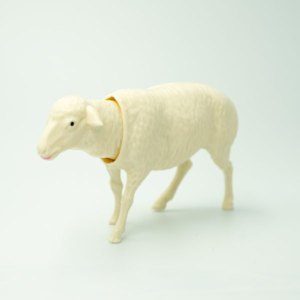 Bobbing Sheep White
