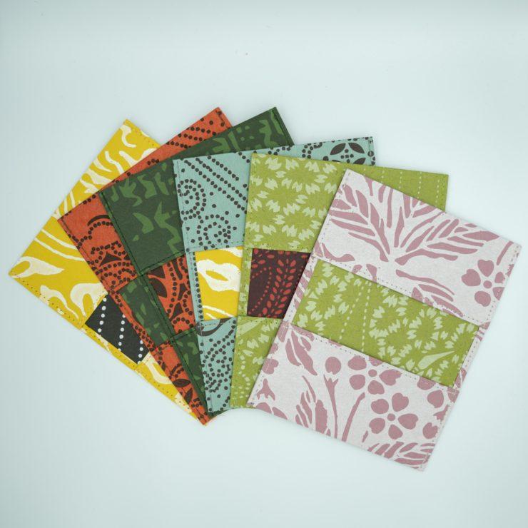 【新商品】ふすま紙を使ったカードケースができました