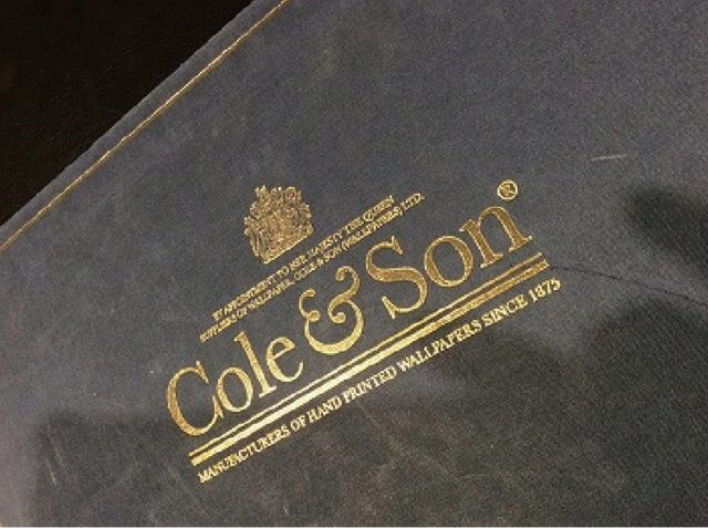【MATERIAL STORY】Cole&Son