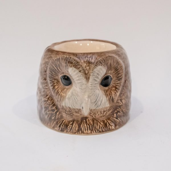 Tawny Owl Face Egg Cup Q629