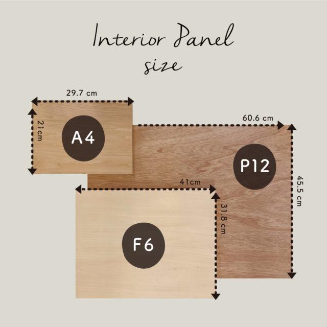 輸入壁紙で作るインテリアパネル、オンラインでもご注文いただけるようになりました!