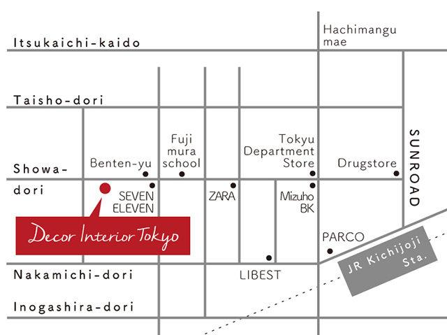 【Decor Interior Tokyo】吉祥寺に移転オープンいたしました!
