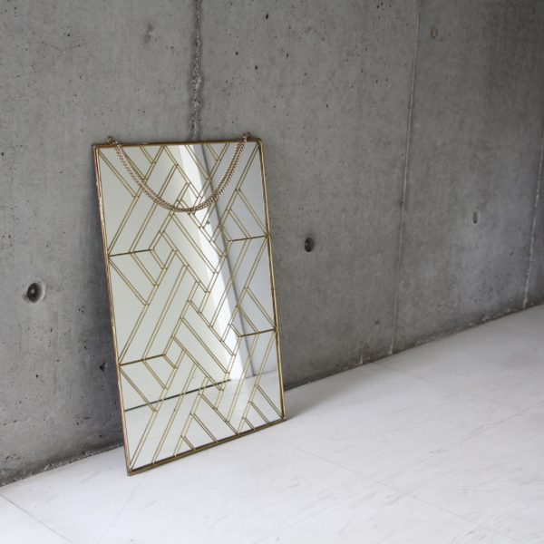 "Geometry Wall Hanging Mirror ""01-S"""