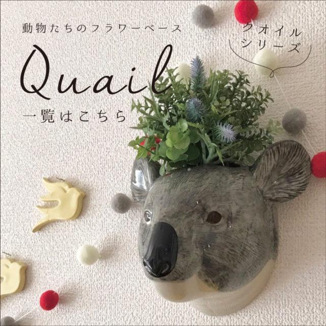【商品一覧】Quail-クオイル