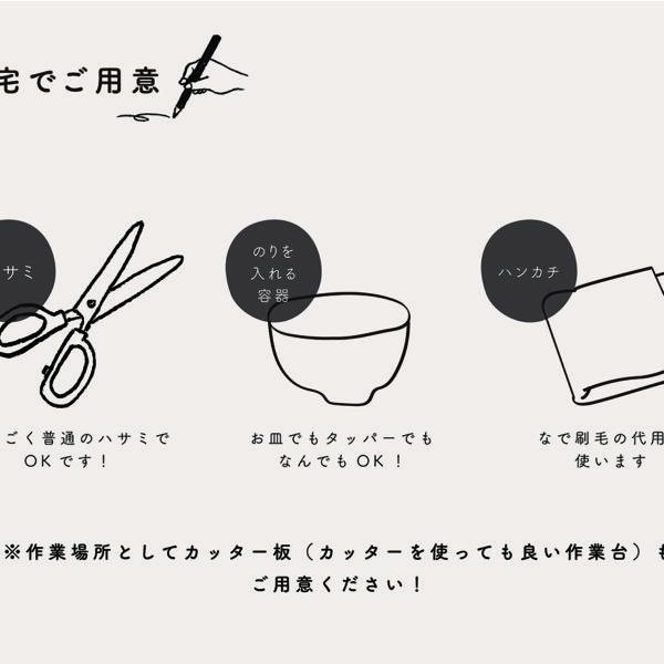 【おうちで作るキット】輸入壁紙で作るインテリアパネル