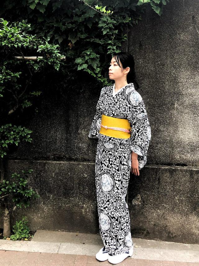 夏水組オリジナル 注染浴衣(オーダーメイド仕上げ)